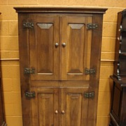 Antique Rustic Cabinet Cupboard Arts and Crafts Mission Craftsman