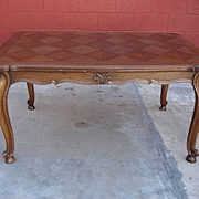 Antique Furniture French Antique Dining Table Library Table