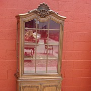 Antique Furniture French Antique Louis XV Vitreen China Cabinet Display Cabinet Bookcase