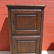Antique Furniture French Antiques Rustic Cabinet Cupboard Server Rustic Mission Antique ...