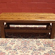 Antique Furniture French Antique Rustic Coffee Table