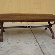 French Antique Rustic Furniture French Antique Coffee Table Antique Hand Forged Iron