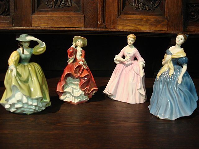Set of 4 Vintage Royal Doulton Figurines