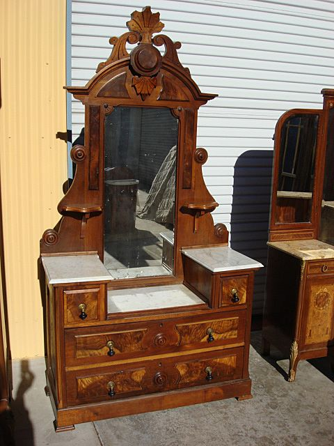 Antique Furniture American Antique Victorian Dresser Antique Bedroom