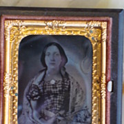 Antique Daguerreotype Rarer Than Tintype Tin Type Photograph