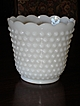 Fire King Hobnail Bowl Planter