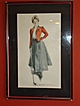 "Original Howard Chandler Christy Lithograph ""Golf Girl - Lady Golfer"" 1900"
