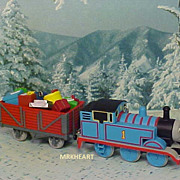 Hallmark Thomas The Tank - Cheery Cargo - 2006 Hallmark Ornament New