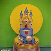 Disney Cinderella Jewelry Box Castle Series Hallmark Magic Ornament 2006 New