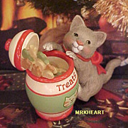 Hallmark Mischievous Kittens Cat #8 in Series 2006 Hallmark Ornament New