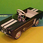 Hallmark 2007 Limited Edition 1964 Ford Mustang Kiddie Car Classics Ornament New