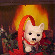 Westie Terrier Dog Puppy Love Series Hallmark Ornament 2005 New