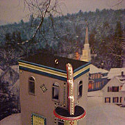 Hallmark Nostalgic House - Grand Theater - 2003 Ornament #20 in Series New
