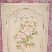Shabby Cottage Parfum de Rose Panel Hp Roses