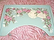 Charming VINTAGE Bed Tray with Hand Painted ROSES!!