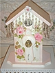 Shabby Cottage Chic Decorative BIRDHOUSE~sO gOrgEoUs!