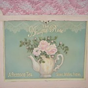 Gorgeous Tea Shoppe HP Roses Window