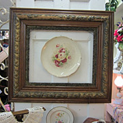 Gorgeous VINTAGE Oak Gesso Frame...Wide Scrolly Frame...Shabby Delight