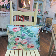 Hand Painted Kitchen Chair...Shabby Chic Distressed Yellow...FREE Shipping