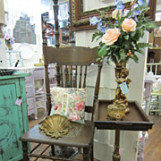 Shabby Chic Vintage Side Table Marriage Piece FREE Shipping