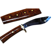 REDUCED Fabulous Custom Handmade Thai Enab Fighting Knife