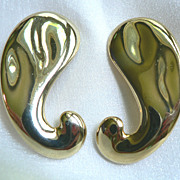 Ben-Amun Earrings by Egyptian Designer Isaac Manevitz