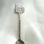 Vintage Towle's Log Cabin Syrup  Advertising Demitasse Spoon