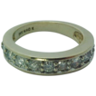 Ladies 14k Gold 10 Diamond Ring 1/2 ctw