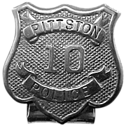 SALE Unusual Early 1900's Pittston, PA Police Badge