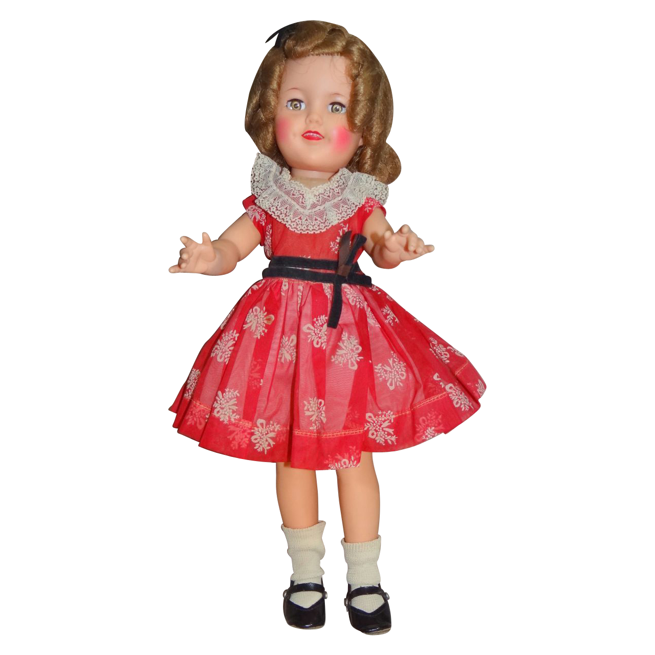 Pretty 1959 Ideal Shirley Temple 17 Quot Doll Great Condition