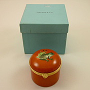 TIFFANY Private Stock 'Frog' clairette box Le Tallec 1980