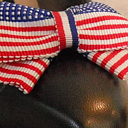 MUSI Flag -  Patriotic Shoe Clip