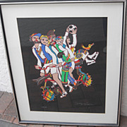 REDUCED Jovan Obican Lithograph - Sports (Signed #169/175)