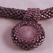 REDUCED Light Purple (Lavender) Seed Bead Necklace