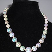 Aurora Borealis Beaded Necklace