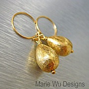 Everyday-18k Gold Vermeil Briolette Drop Earrings