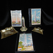 Vintage Chicago Worlds Fair 1933-1934 Memorabilia