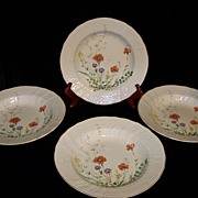 Vintage Mikasa Margaux D1006 pattern Soup or Cereal Bowls