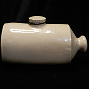 Vintage Stoneware Foot Warmer
