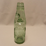 Vintage Codd Bottle- John Grundy-Stockport