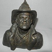 Vintages Collectors Edition - Michael Garman Firefighter Bronzetone #052 Bust