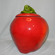 Vintage Maurice of California Apple Cookie Jar