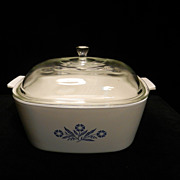 Vintage Corning Ware 4Qt Covered Casserole P-84-B