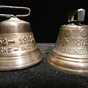 Vintage Cast Brass Bells-