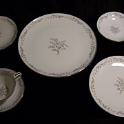 SALE Vintage Noritake Natalie 5815 China- 12 Place Settings + Extras