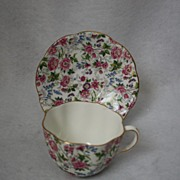 Vintage Haviland &Co. Limoges China,Chintz ,Porcelain, Circa 1930's England