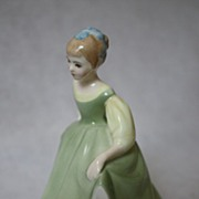 "Vintage Porcelain Royal Doulton ""Fair Maiden""Figurine HN2211 circa 1966"
