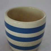 Blue and White Cornish Ware, Rare Toothpick Holder, Older piece marked England