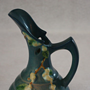 Roseville Blue Snowberry Ewer ITK-6