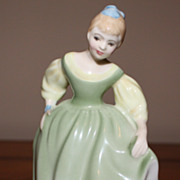 Royal Doulton Porcelain Fair Maiden doll-HN 2211 Limited 1966